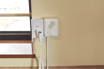 住宅型老人ホーム居室のナースコールシステム